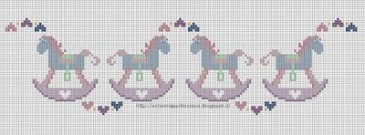 Grande raccolta di schemi e grafici per punto croce free for Disegni punto croce per lenzuolini neonati