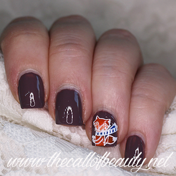 Winter Animals Nail Art