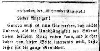 Richmonder Anzeiger. 9. Jg, Nr. 2, Sa., den 14. Juni 1862, S. 2