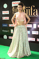 Akshara Haasan in Peachy Crop Top Choli Skirt at IIFA Utsavam Awards 82.JPG