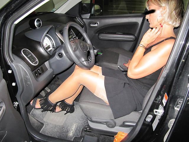 Lady möchte Rastplatzsex beim Autobahnkreuz Altdorf