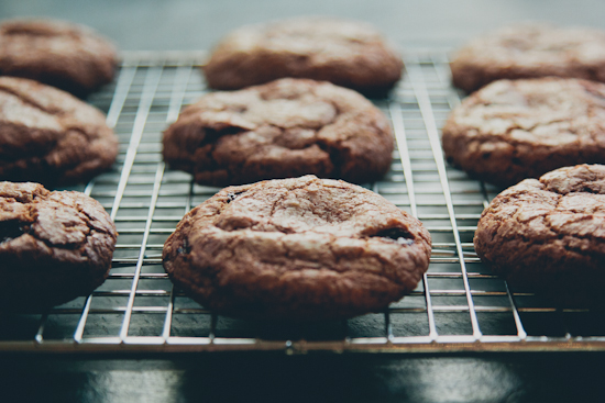 smoked sea salt chocolate chip cookies