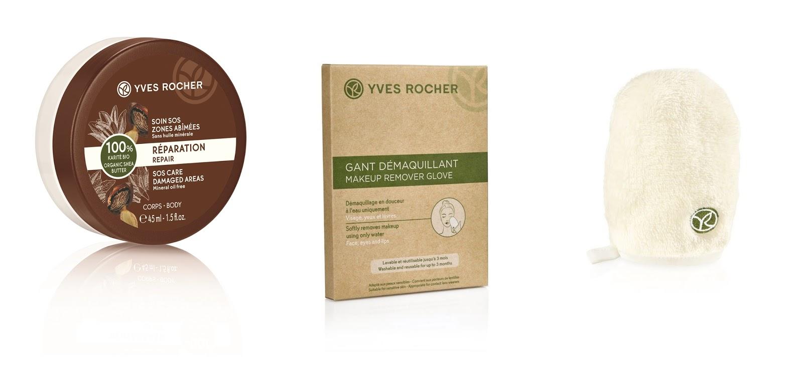 Yves Rocher sminkeltávolító kesztyű