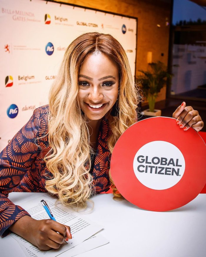 Femi Otedola daughter Dj Cuppy, is now Education Ambassador for Global Citizen