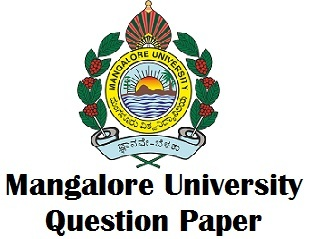 Mangalore University Previous Years Question Papers