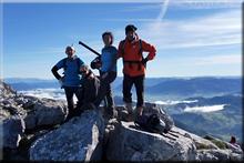 Anboto mendiaren gailurra 1.331 m. - 2017ko azaroaren 19an