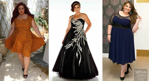 model baju atasan pesta perempuan gemuk
