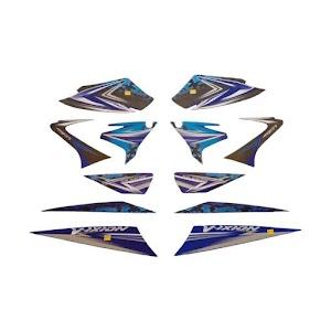Idola Striping Motor Full for Vixion 2008 - Biru