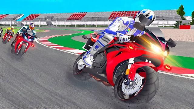 تحميل لعبة سباق الدراجات النارية superbike racers للكمبيوتر والموبايل الاندرويد برابط واحد مباشر ميديا فاير مضغوطة
