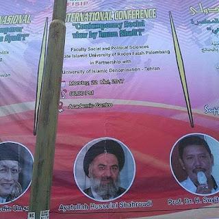 Beredar Pamflet Konferensi di Universitas Raden Fatah Palembang Hadirkan Ulama Syiah dari Tehran