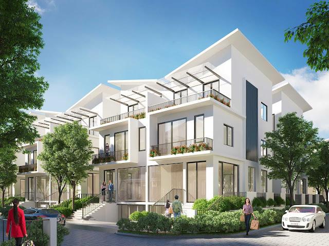 Mẫu thiết kế biệt thự Đơn Lập tại Khai Sơn City