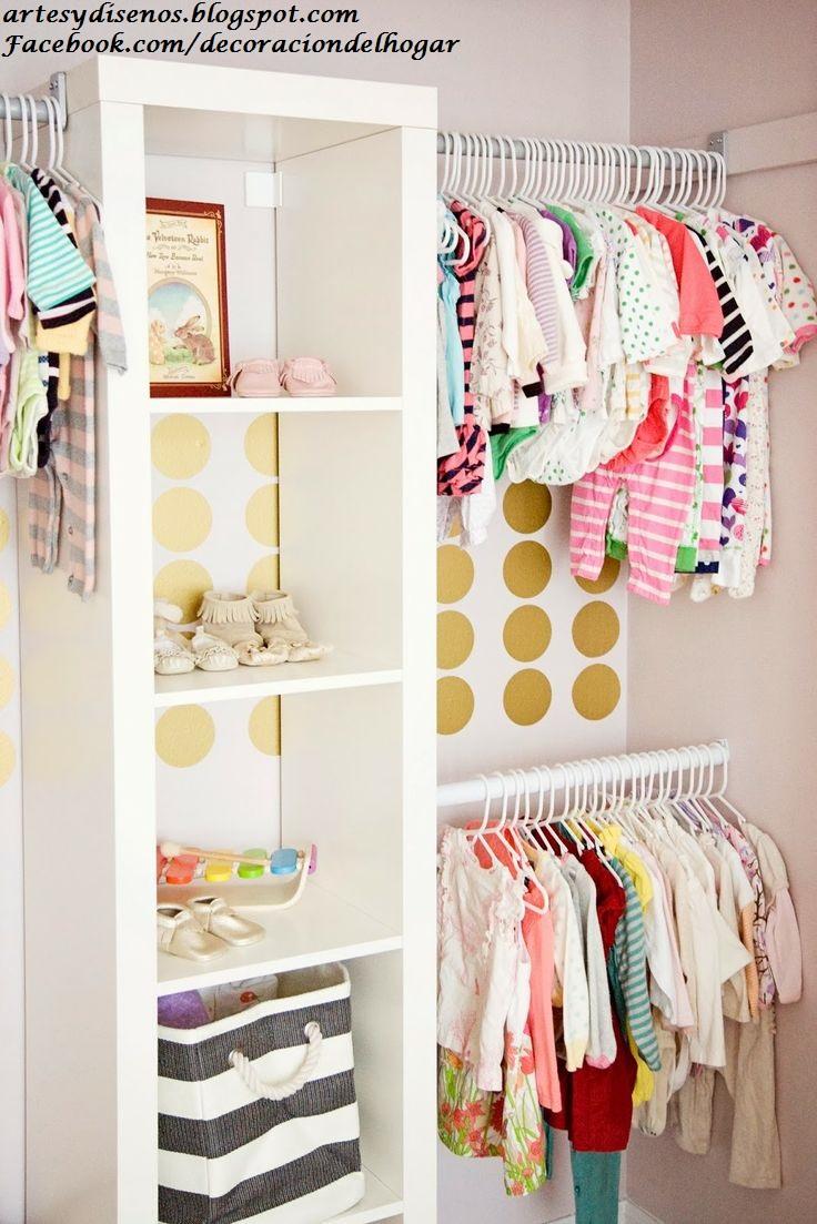 Dise os de closet para bebes baby decoraci n del hogar for Disenos de roperos para dormitorios pequenos