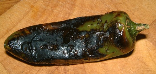 Charred Chilli Pepper