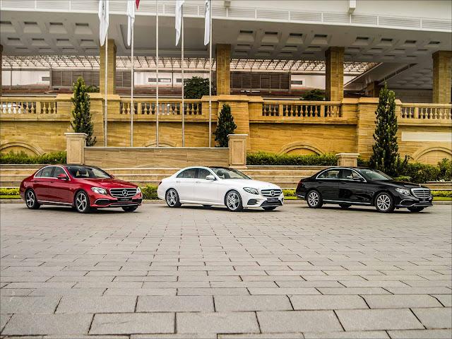 Bộ ba mẫu Mercedes E-Class mới vừa ra mắt tại Việt Nam