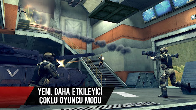 modern combat 4 apk indir