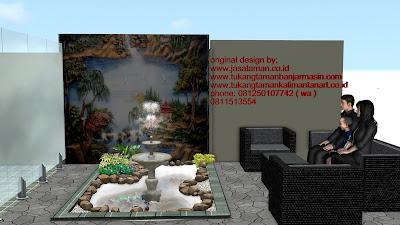Desain taman surabaya art  | www.jasataman.co.id | Taman relief