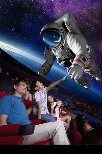 """संस्कृति मंत्रालय के द्वारा भारत के पहले """"फुलडोम 3 डी """"डिजिटल थिएटर का उद्घाटन किया गया -"""