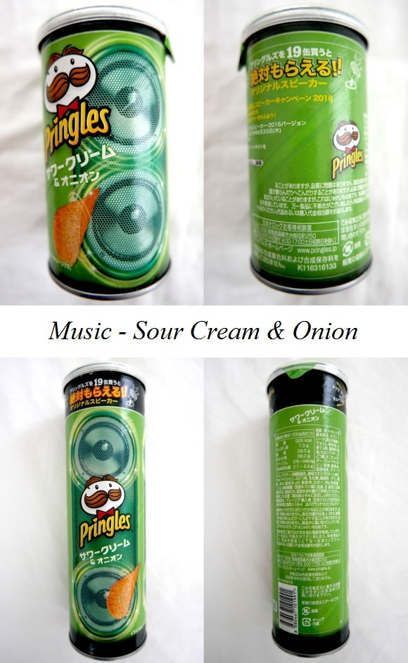Pringles Music – Sour Cream & Onion