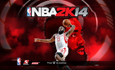 "NBA 2K14 James Harden ""Fear The Beard"" Title Screen Mod"
