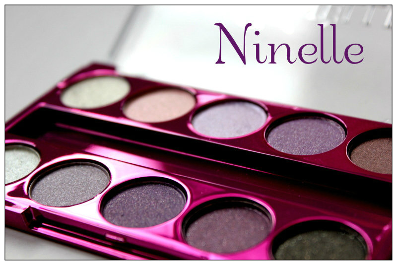 Review: Ninelle Chromatic eyeshadow Glam Touch 2