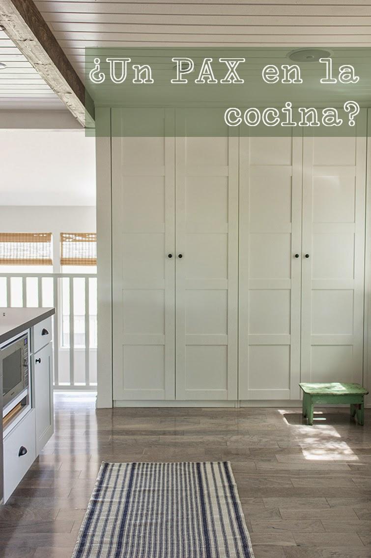 petitecandela BLOG DE DECORACIN DIY DISEO Y MUCHAS VELAS Pon un armario PAX de Ikea en tu cocina