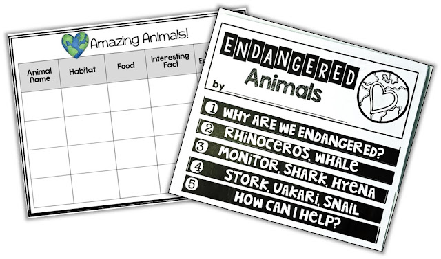 https://www.teacherspayteachers.com/Product/Endangered-Animals-Nonfiction-1162986