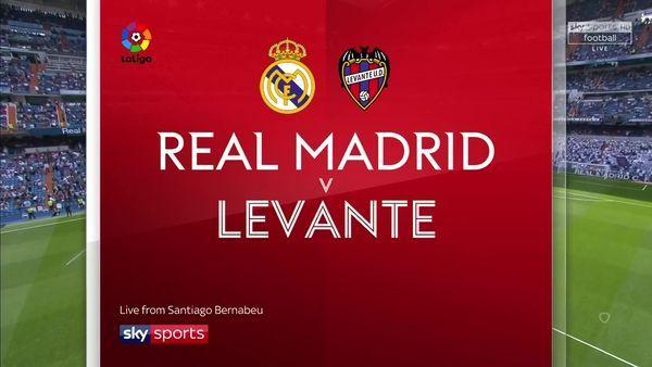 Horario y dónde ver: Real Madrid vs Levante