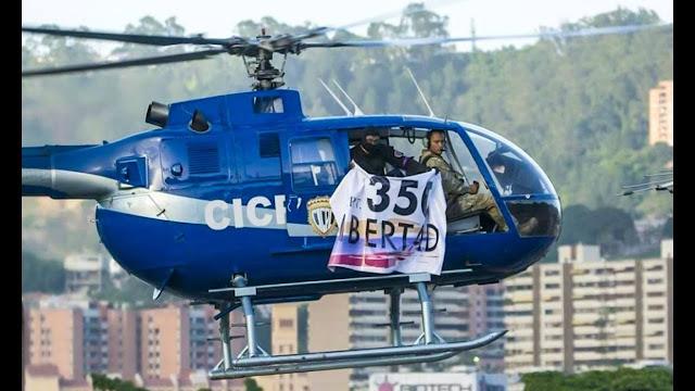 Aseguran que mecánico del helicóptero de Óscar Pérez fue detenido
