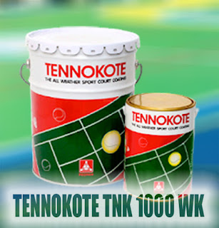 Tennokote cat khusus untuk pengecatan lapangan dan cat lantai