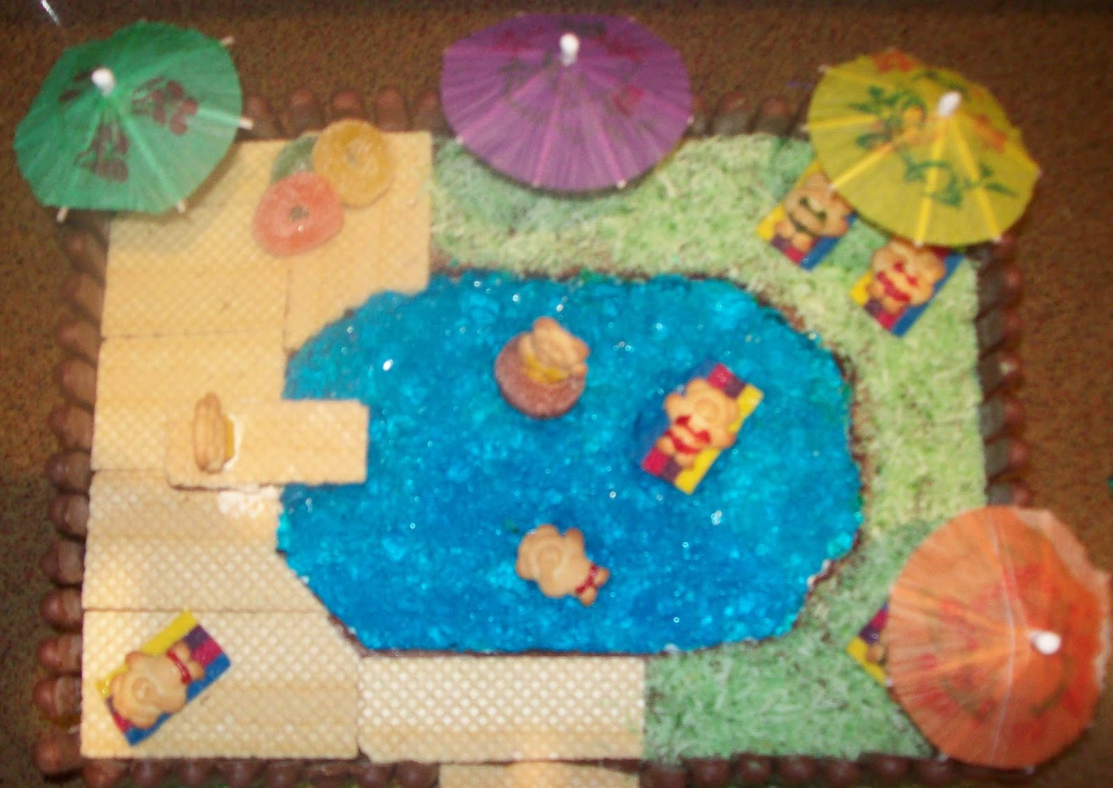 Madnsneaky Built Welcome With Cake A Pool Party And