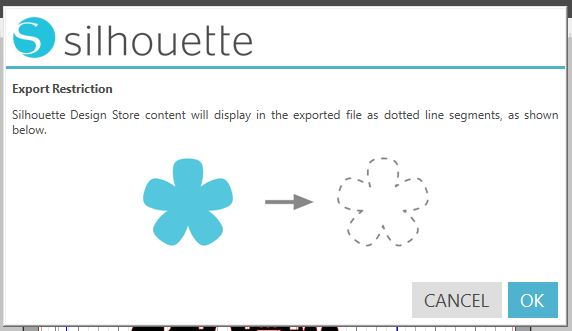 New Export options in Silhouette Business Edition V4 1- SVG
