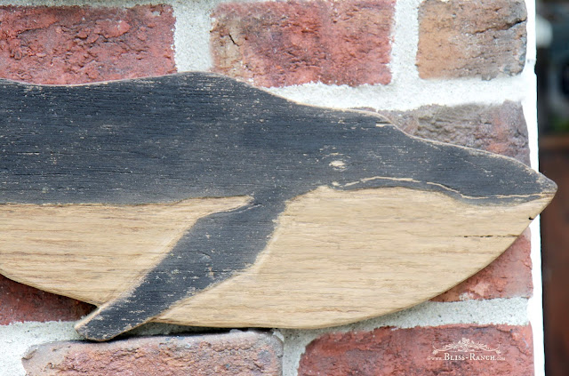 Barn Wood Whale, Bliss-Ranch.com
