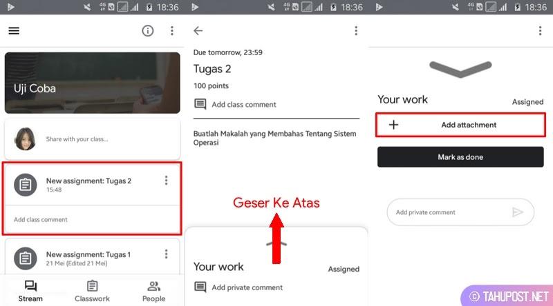 Add Attachment - Cara Mengirim Tugas di Google Classroom