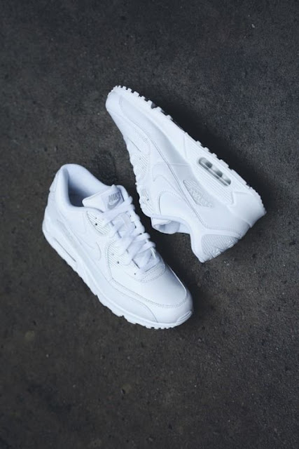 White Nike Air Max Sneakers