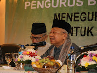 KH Ma'ruf Amin Ingatkan Seluruh Pengurus Tentang Garis NU