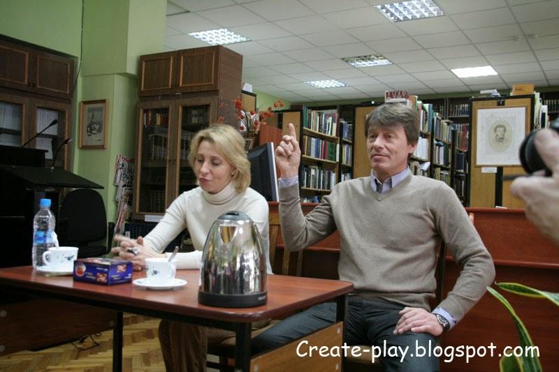 Юлия Рутберг и Анатолий Лобоцкий
