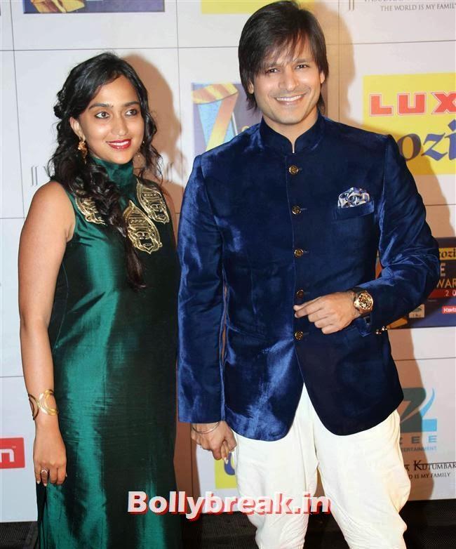 Vivek Oberoi, Zee Cine Awards 2014 Red Carpet Pics