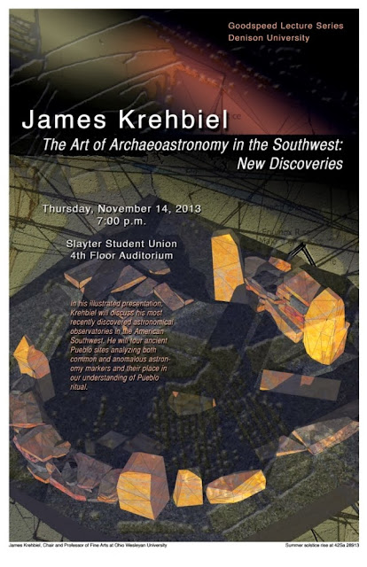 The Art of Archaeoastronomy in the Southwest: New Discoveries Lecture Flyer