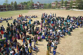 TCV CHAUNTRA EARTH QUAKE DRILL