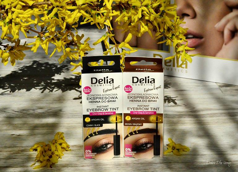 Delia Instant Eyebrow Tint Jednoskładnikowa Ekspresowa Henna do brwi