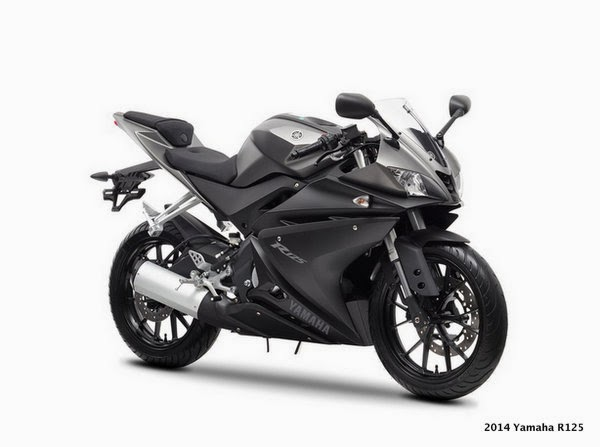 Yamaha YZF-R125 2014 edition unveiled