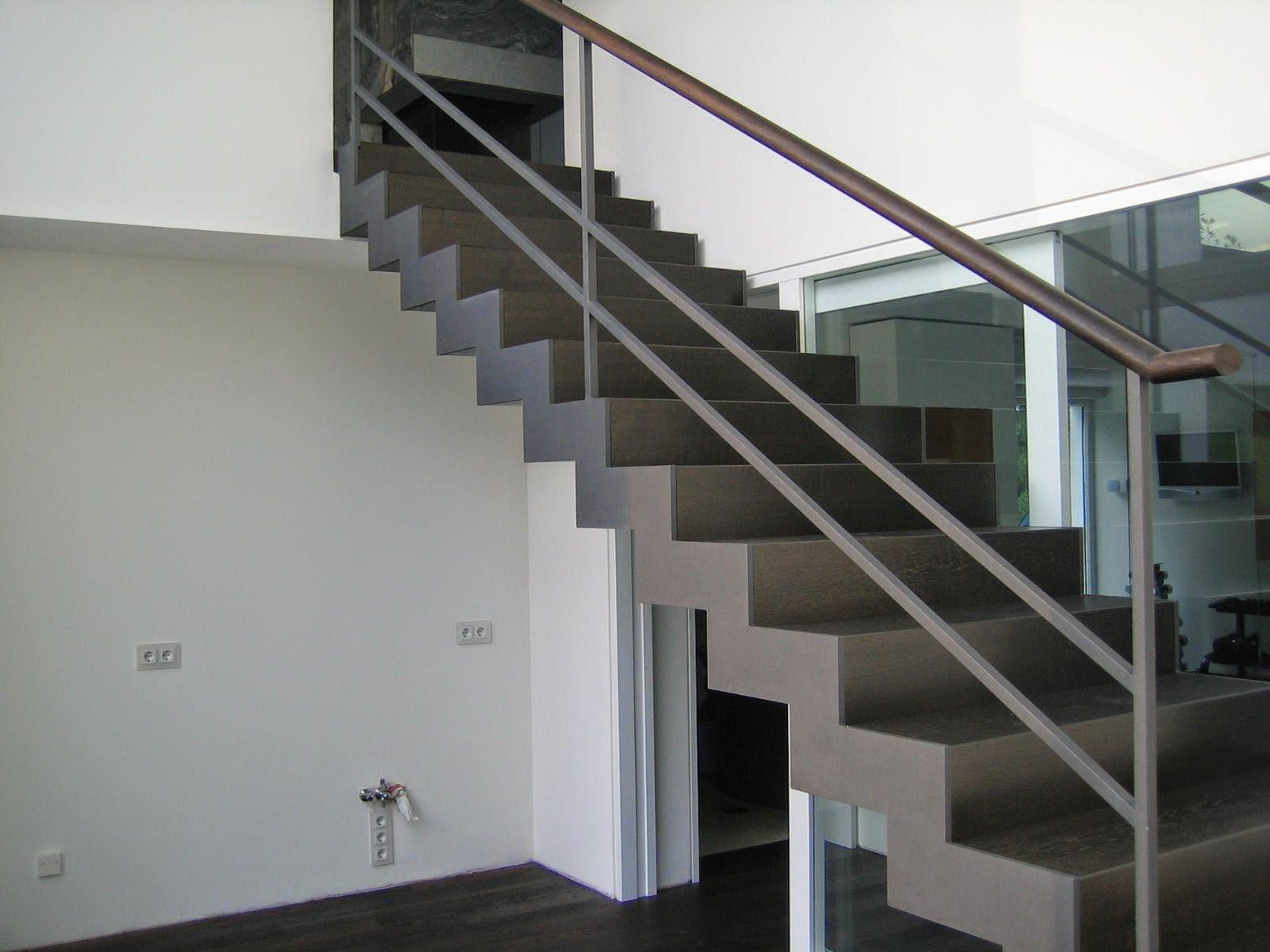 fr bel metallbau stahltreppe mit abgetreppten wangen. Black Bedroom Furniture Sets. Home Design Ideas