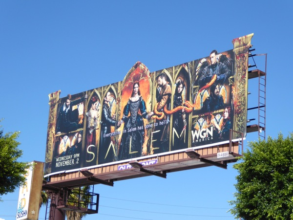 Salem season 3 special extension billboard
