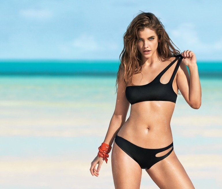 8542cd7f25d4b Calzedonia Swim Summer 2019 Campaign featuring Barbara Palvin