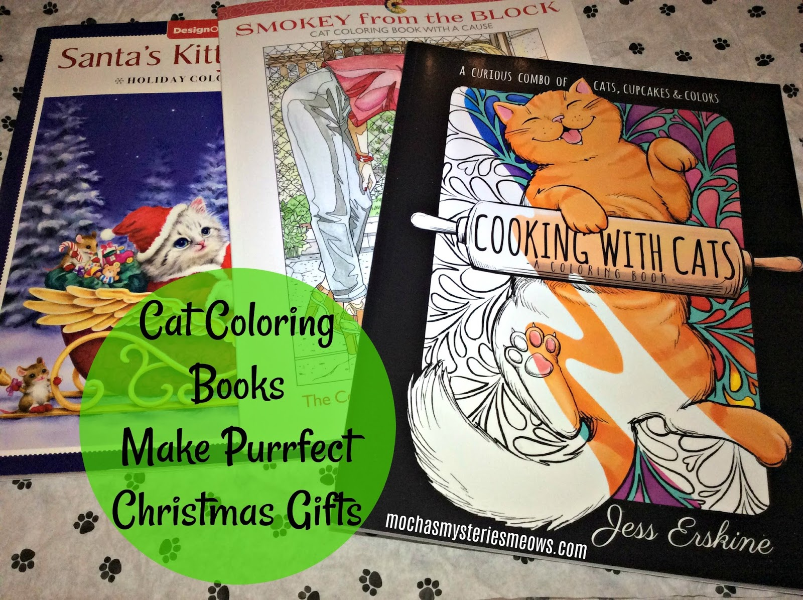 Melissa S Mochas Mysteries And Meows Cat Coloring Books Make