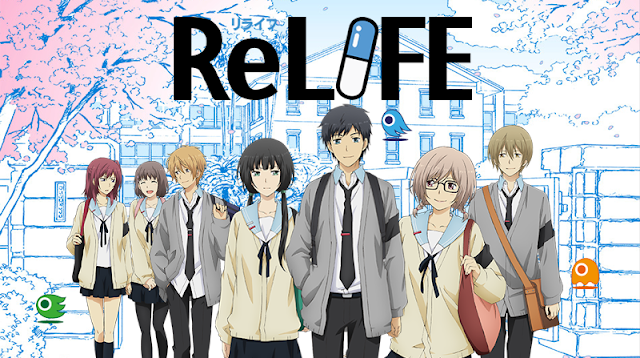 ReLIFE tendrá nuevo anime con 4 episodios que incluyen el final de la historia
