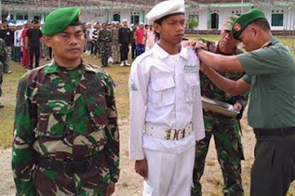 Keren, Latihan Untuk Bela Negara! TNI Melatih Ala Militer Anggota FPI