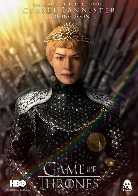 "Preview de Cersei Lannister 1/6 de ""A Game of Thrones"""