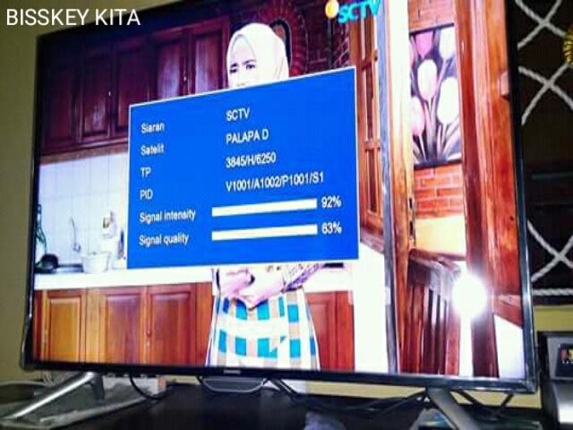 Frekuensi SCTV HD dan Indosiar HD Terbaru 2019