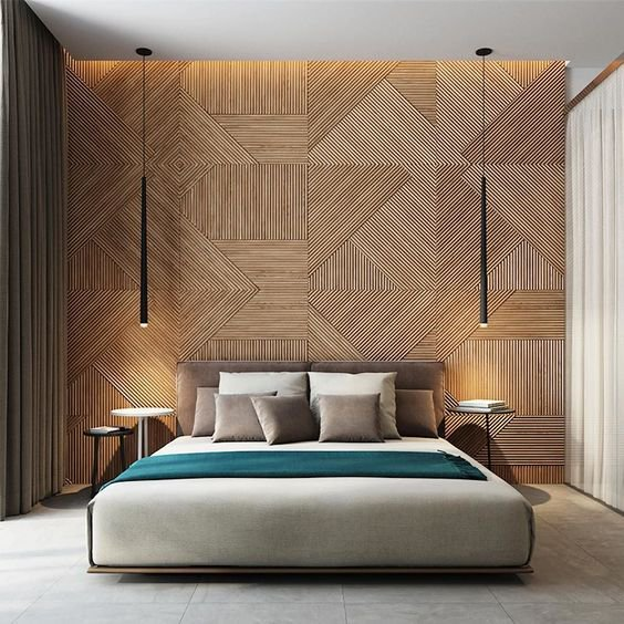 15 Amazing Ideas To Decorate Your Bedroom: 30 Elegant Wall Decorating Ideas Behind The Bed, That Will